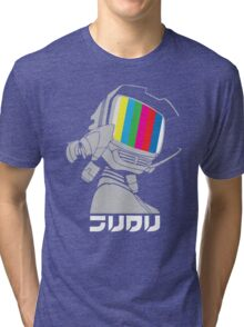 FLCL - Canti Broadcast  Tri-blend T-Shirt