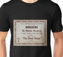 Performing Arts Posters Houdini in The master mystery a super serial in fifteen episodes 0252 Unisex T-Shirt