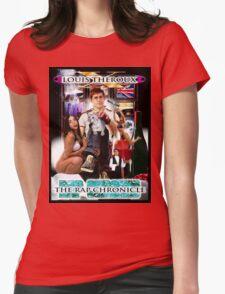 LOUIS THEROUX GANGSTA RAP ALBUM COVER WEIRD WEEKENDS Womens Fitted T-Shirt