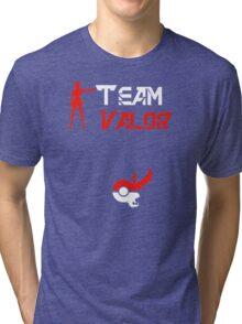 Team Valor Candela Pokemon Go Tri-blend T-Shirt