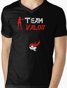 Team Valor Candela Pokemon Go Mens V-Neck T-Shirt