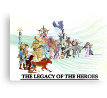 The Legacy of the Heroes Metal Print