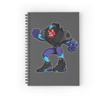 """Beast 8 """"Aqua"""" Spiral Notebook"""