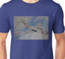 Mig-15 Russian Jet Fighter, Korean Conflict Unisex T-Shirt