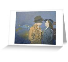 Tribute to Casablanca Greeting Card