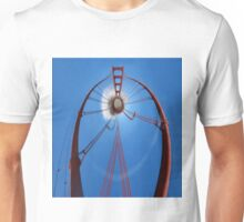 Curvy Golden Gate Bridge Unisex T-Shirt