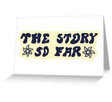 The Story So Far - Sticker Greeting Card