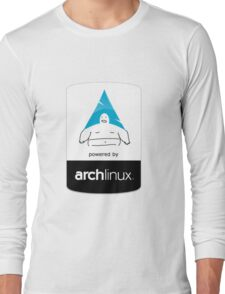 Powered By Arch Linux Long Sleeve T-Shirt