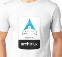Powered By Arch Linux Unisex T-Shirt
