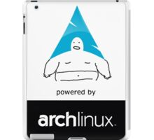 Powered By Arch Linux iPad Case/Skin