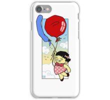 flying balloon iPhone Case/Skin