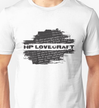 HP Lovecraft Quotes Unisex T-Shirt