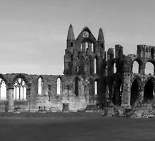 Whitby Abbey, North Yorkshire UK by GeorgeOne