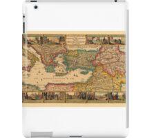 Mediterranean Sea 1642 iPad Case/Skin