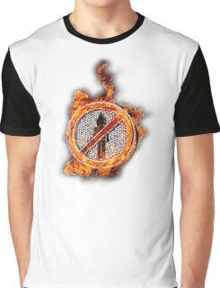 Travis Scott No Bystanders Chain Graphic T-Shirt