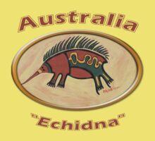 Echidna-Australia Baby Tee