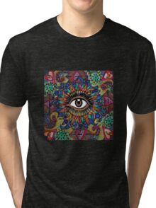 Trippy Eye Tri-blend T-Shirt