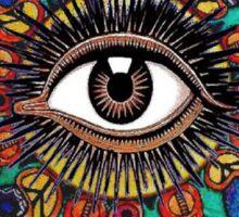Trippy Eye Sticker