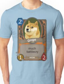 Doge Card Unisex T-Shirt