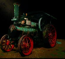 Steam Traction Engine by Dennis Melling