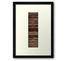 Pulp Fiction Colorblinds Framed Print