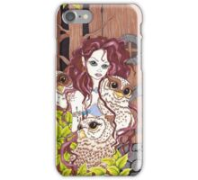 The Owl Keeper iPhone Case/Skin