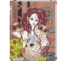 The Owl Keeper iPad Case/Skin