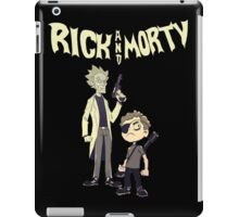 rick and morty mafia Tshirt iPad Case/Skin