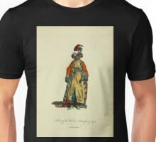 Habit of the black sultaness in 1749 Sultane noire 382 Unisex T-Shirt