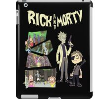 Rick And Morty TSHIRT iPad Case/Skin
