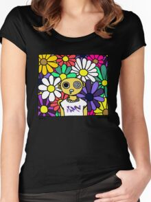 DMT Women's Fitted Scoop T-Shirt
