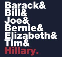Democrats Helvetica One Piece - Long Sleeve