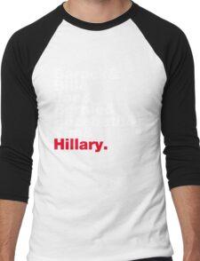 Democrats Helvetica Men's Baseball ¾ T-Shirt