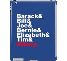 Democrats Helvetica iPad Case/Skin