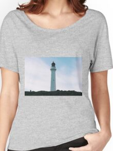 Split Point Lighthouse in Aireys Inlet. Women's Relaxed Fit T-Shirt