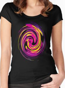EjProject - Psychedelic 006 Women's Fitted Scoop T-Shirt