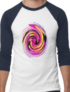 EjProject - Psychedelic 006 Men's Baseball ¾ T-Shirt
