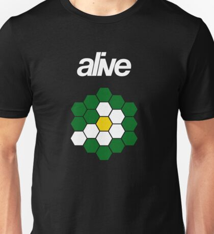 alive HEXAGONSUN Unisex T-Shirt