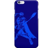 Ike Minimalist Blue iPhone Case/Skin