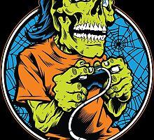 Skull Gamer by cryface