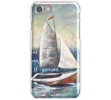 Genade hawe - Harbour of Grace iPhone Case/Skin