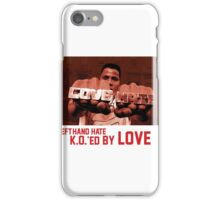 K.O.'ed By Love iPhone Case/Skin