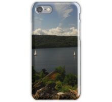 Lake Windermere from the road iPhone Case/Skin