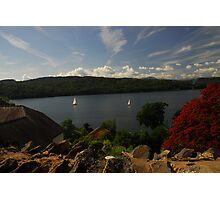 Lake Windermere from the road Photographic Print