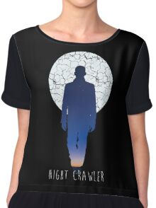 Night Crawler Chiffon Top