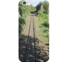 train rails iPhone Case/Skin