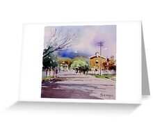 Sofala, NSW, Australia Greeting Card