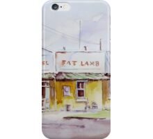 Fat Lamb Hotel, Eugowra, NSW iPhone Case/Skin