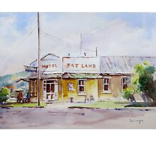 Fat Lamb Hotel, Eugowra, NSW Photographic Print