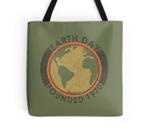 Earth Day: Old School Tote Bag